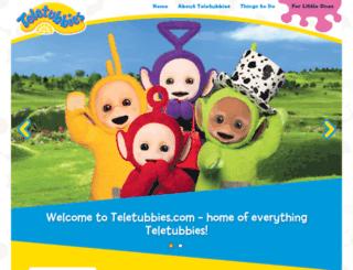 teletubbies.co.uk screenshot