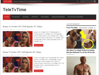 teletvtime.com screenshot
