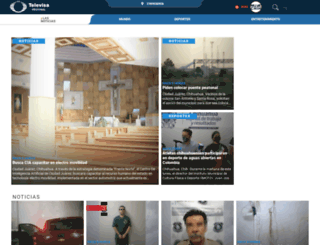 televisajuarez.tv screenshot