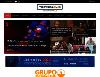 television.com.ar screenshot