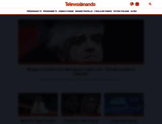 televisionando.it screenshot