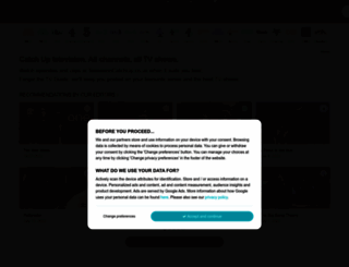 televisioncatchup.co.uk screenshot
