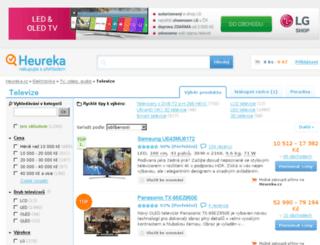 televize.heureka.cz screenshot