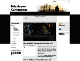televizyonkumandasi.blogspot.com.tr screenshot