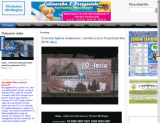 telewizjaczernica.pl screenshot