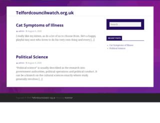 telfordcouncilwatch.org.uk screenshot