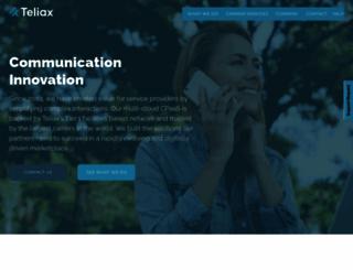 teliax.com screenshot