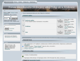 teligi26.cba.pl screenshot