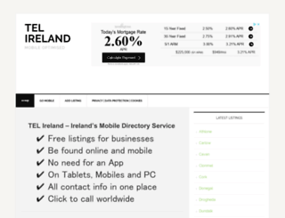 telireland.ie screenshot