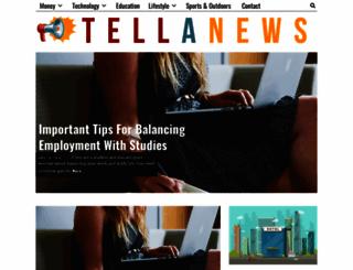 tellanews.com screenshot