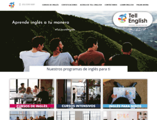 tellenglish.com screenshot