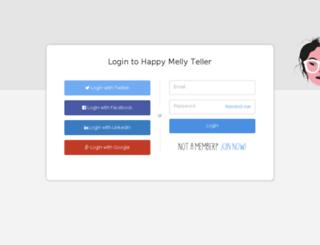teller.happymelly.com screenshot
