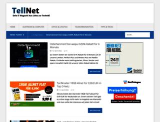 tellnet.de screenshot
