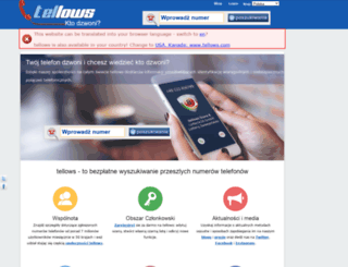 tellows.pl screenshot