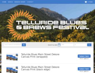 tellurideblues.frontgatesolutions.com screenshot