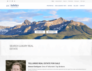 telluriderealestateforsale.com screenshot