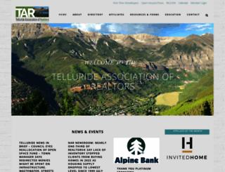 telluriderealtors.net screenshot