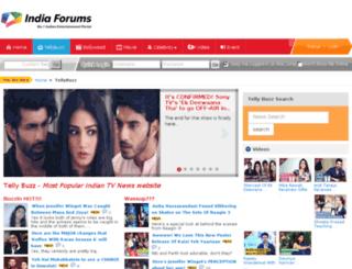 tellybuzz.com screenshot