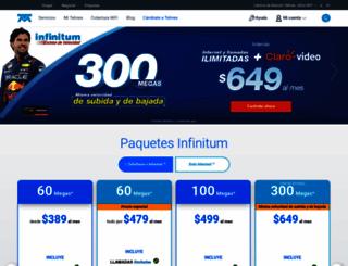 telmex.com screenshot