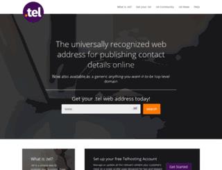 telnic.org screenshot