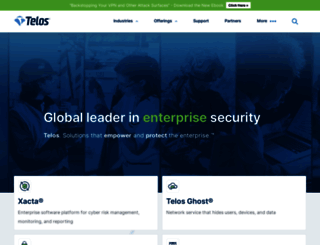 telos.com screenshot