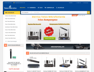 telsizmikrofon.com screenshot