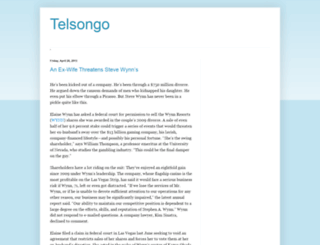 telsongxqz.blogspot.com screenshot