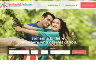 telugu.matrimonialsindia.com screenshot