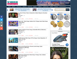 telugu.videosamachar.com screenshot
