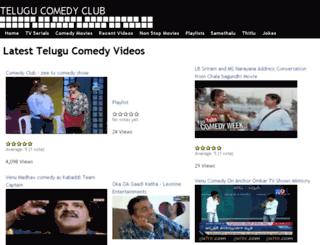 telugucomedyclub.com screenshot