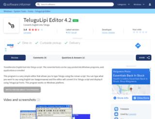 telugulipi-editor.software.informer.com screenshot