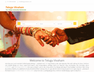 teluguvivaham.com screenshot