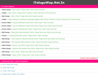 teluguwapsongs.net screenshot