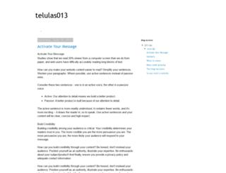 telulas013.blogspot.com.br screenshot