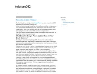 teluloro032.blogspot.com screenshot