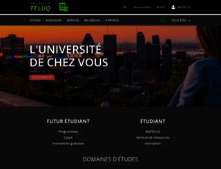 teluq.ca screenshot