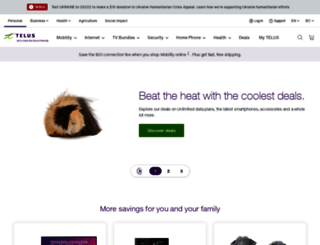 telus.com screenshot