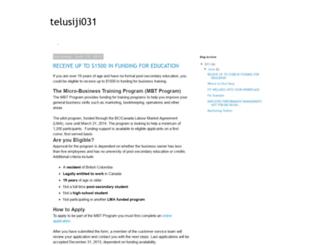 telusiji031.blogspot.ru screenshot