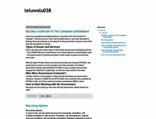 teluwolu038.blogspot.be screenshot