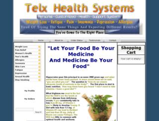 telxhealthsystems.com screenshot
