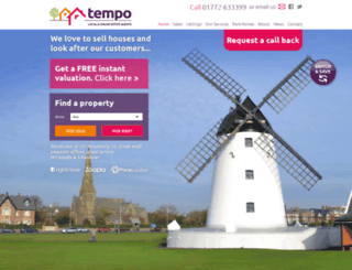 tem-po.co.uk screenshot