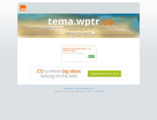 tema.wptr.co screenshot