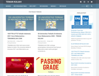 temankuliah.com screenshot