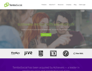 tembosocial.com screenshot