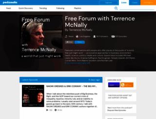 temcnally.podomatic.com screenshot