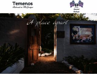 temenos.org.za screenshot