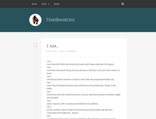 temibankole.wordpress.com screenshot
