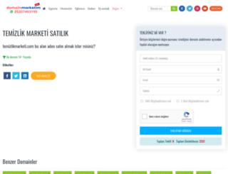 temizlikmarketi.com screenshot