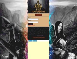 temnodar.ru screenshot