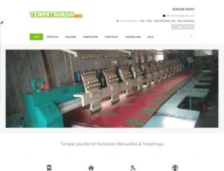 tempatbordir.com screenshot